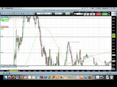 Live Ftse 100 trade + Results 20th November
