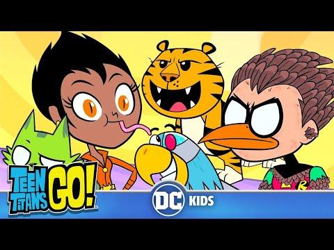 Teen Titans Go em Português  Animais Vivos  DC Kids