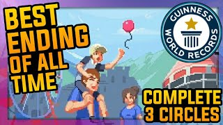 COMPLETE ALL CIRCLE - Best Ending| Life is a Game #17