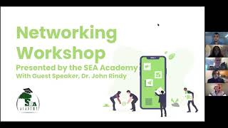 SEA Academy Networking Workshop 2021