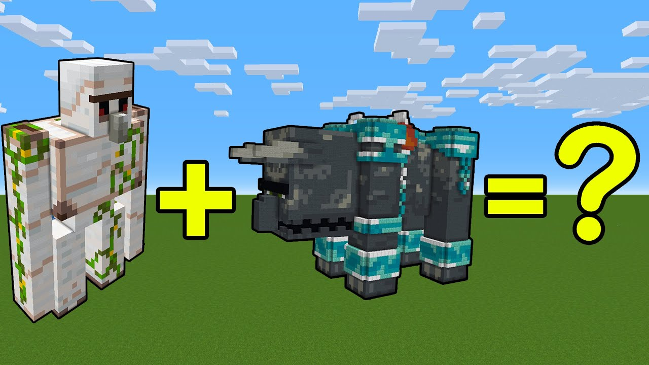 I Combined an Iron Golem and a Ravager Build in Minecraft - Here's What Happened...
