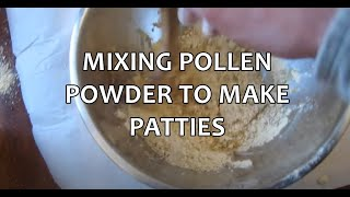 Mudsongs.org: How To Make Pollen Patties