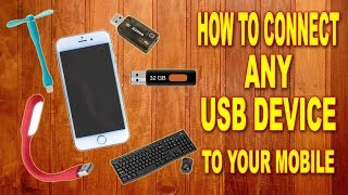 How to Connect Any USB Device to Your Mobile? Make an OTG Cable at Home
