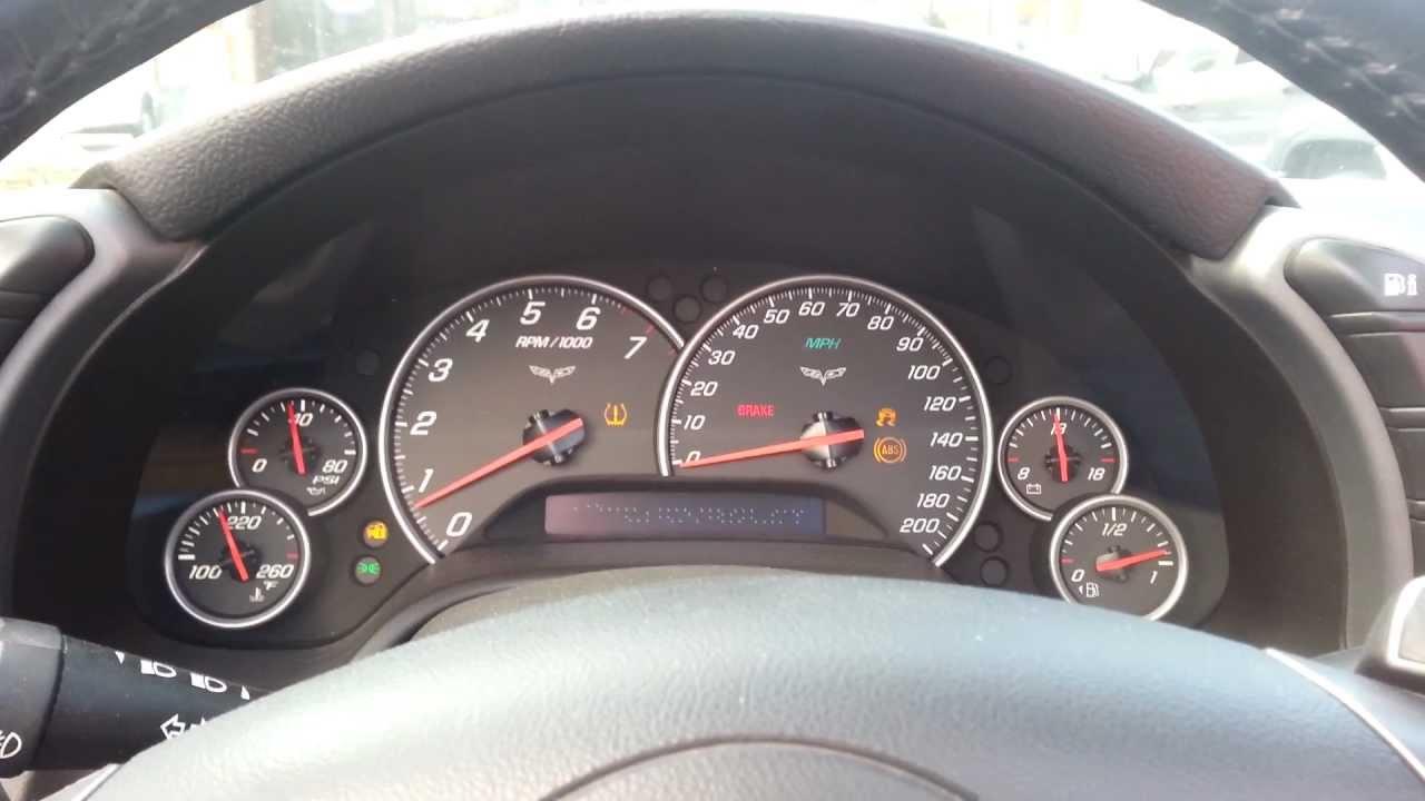 medium resolution of 2007 c6 corvette gauges