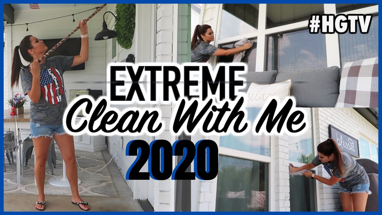 ALL DAY OUTDOOR CLEAN WITH ME   ULTIMATE OUTDOOR CLEANING MOTIVATION   SUMMER YARD MAKEOVER