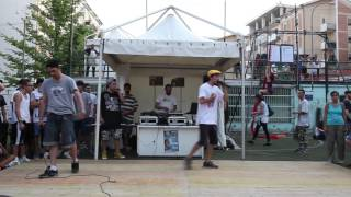 PAPOCCHIO vs MR. COME - Feel Good Jam Freestyle Battle 2015