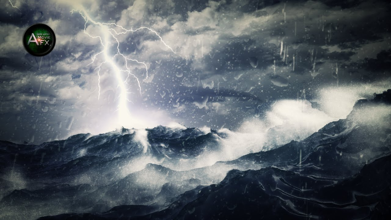 Cartoon of a Windy Storm Cloud - Royalty Free Vector ...   Cartoon Storm