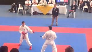 Jesus Costa vs Venezuela Team Kumite Finals