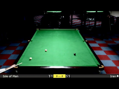 D2S2T2 Snooker World Team Cup Groups : Isle of Man vs Iran