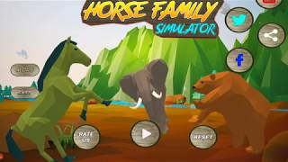 🐴Horse Family Simulator 3D Survive in The Wild and protect your Family