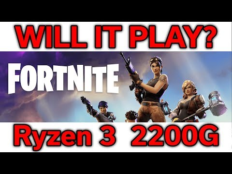 Build a Ryzen 3 2200G Fortnite Gaming Computer With a $350 Budget