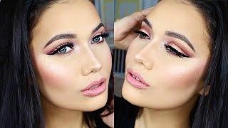 Jaclyn Hill Morphe Brushes Palette + Flawless Glowing Skin Makeup Tutorial