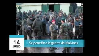 Video: 14 de junio - Fin a la guerra de Malvinas