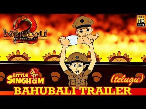 Little Singham - Bahubali Trailer (Telugu)