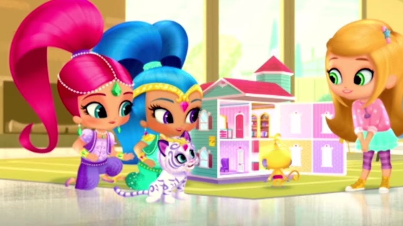 Shimmer And Shine Dream Dollhouse Nick Junior Baby Games For