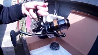 Мощная катушка FERTHER (10 подшипников) под толстую леску на дебелый спиннинг для ловли крупной рыбы