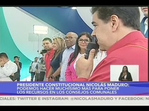 ¡NO SIRVEN! El duro reclamo del Presidente Maduro a entes que financian los Consejos Comunales