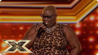 Burgandy Williams' kills it with an Aretha Franklin classic! | Preview | The X Factor UK 2018