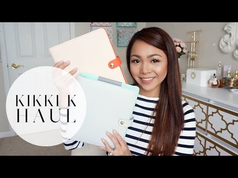 Kikki K Medium Personal Planner: Unboxing/First Impressions & Walkthrough!