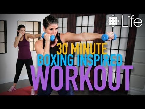 30 minute cardio and toning, boxing-inspired workout | Fit Class | CBC Life