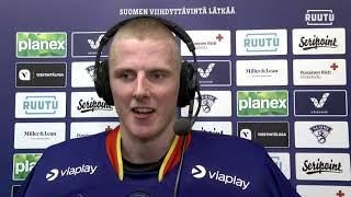 Huippuottelun torjuneen Waltteri Ignatjewin mietteet KeuPa -pelin jälkeen