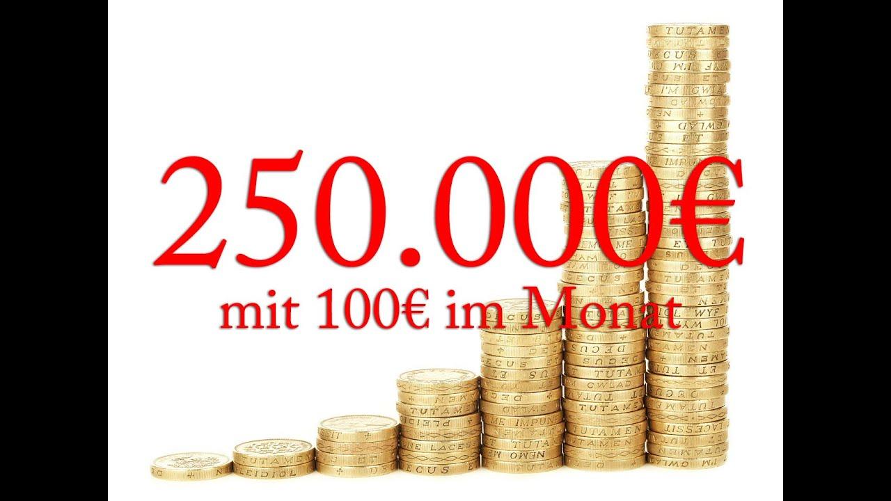 3 3 mit wenig geld investieren mit 100 im monat passives investieren in etfs youtube. Black Bedroom Furniture Sets. Home Design Ideas