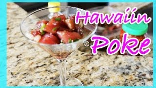 how to make hawaiian ahi tuna poke
