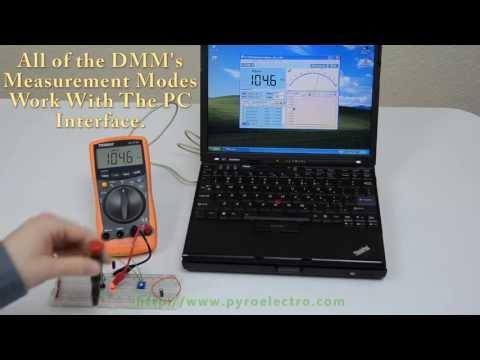 Tenma 72-7735 PC Interface Testing