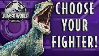 Choose Your Dinosaur Fighter! | JURASSIC WORLD
