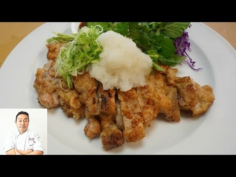 Oroshi Ponzu Chicken – Classic Japanese Recipe