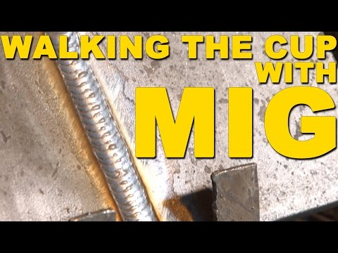 how to walk the cup tig welding