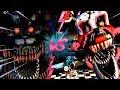 NIGHTMARE VS NIGHTMARE MANGLE - La Liga De FNAF | FIVE NIGHTS AT FREDDY ULTIMATE CUSTOM NIGHT J2