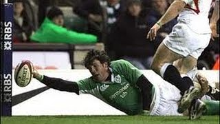 Shane Horgan's 2nd try vs England 2006