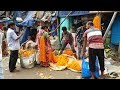 Biggest flower market in Asia I Mullick Ghat Flower Market I Howrah