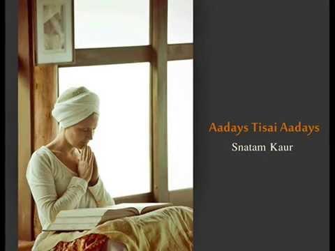 Aadays Tisai Aadays Meditation  '(1/2 hour) ~ Snatam Kaur