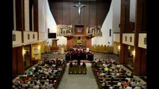 Slava ... la Adormirea Maicii Domnului - Byzantion Choir, Mielec, Poland 2013