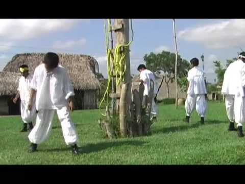 Ritual ceremony of the Voladores