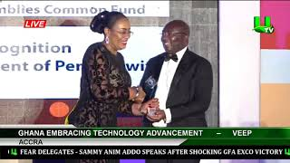 Ghana Embracing Technology Advancement - Dr. Bawumia