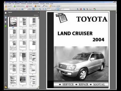 toyota land cruiser workshop service repair manual youtube rh youtube com 2010 Land Cruiser 2004 land cruiser repair manual