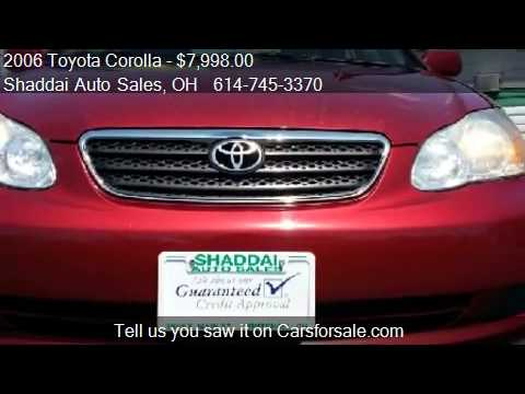 2006 Toyota Corolla LE for sale in Whitehall, OH 43213 at th