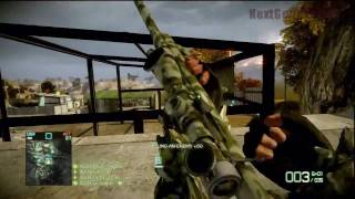 Battlefield: Bad Company 2 Multiplayer Series Episode 14: Various Epic Recon Sniping Clips