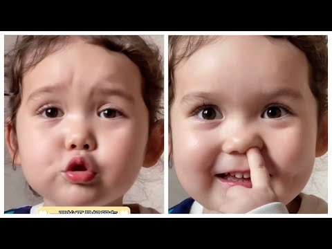 #funny#Cute#baby Funny and cute Georgia baby moments best videos |She is reading
