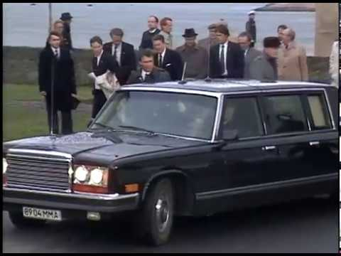 President Reagan at Reykjavik Summit with Mikhail Gorbachev on October 9-11, 1986