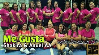 Me Gusta by Shakira & Anuel AA| Cumbiaton| Zumba | Choreography| Zin Enna Lyn|#megusta