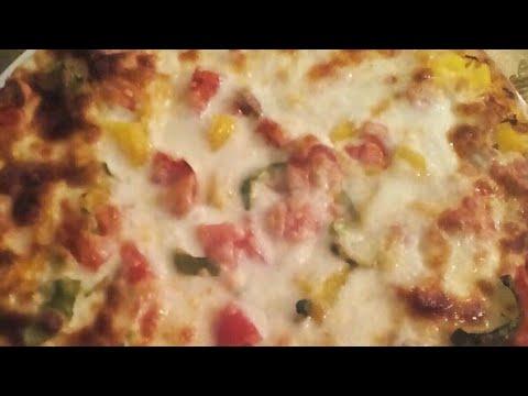 صورة  طريقة عمل البيتزا طريقة البيتزا ببواقى الفراخ المشوية🍕🍕بس خطيرة واحلى من الجاهز واوفر كمان👍👍 طريقة عمل البيتزا بالفراخ من يوتيوب