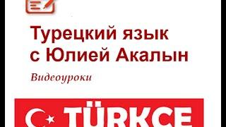 Вебинар Разговорная речь в турецком языке.