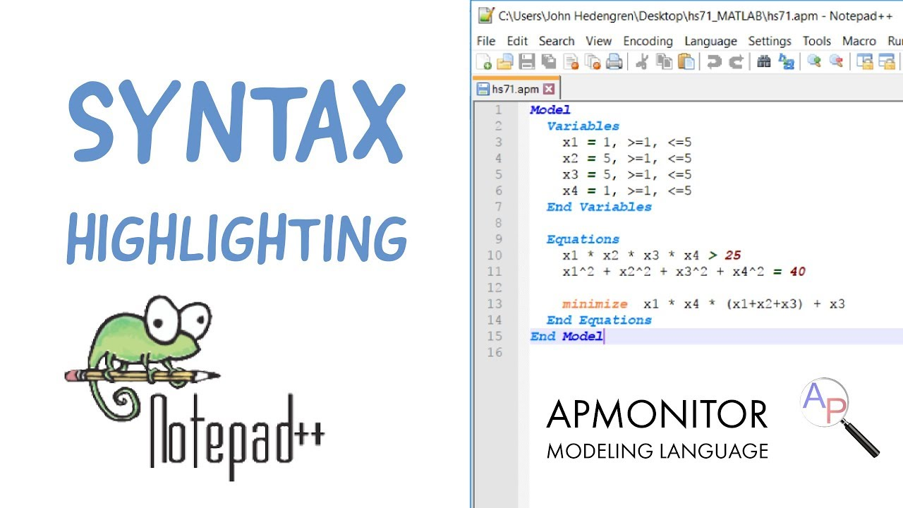 Custom Syntax Highlighting in Notepad++