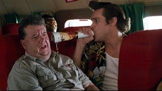 Приколы в самолёте — Эйс Вентура 2: Когда зовет природа (1995) сцена 2/10 HD
