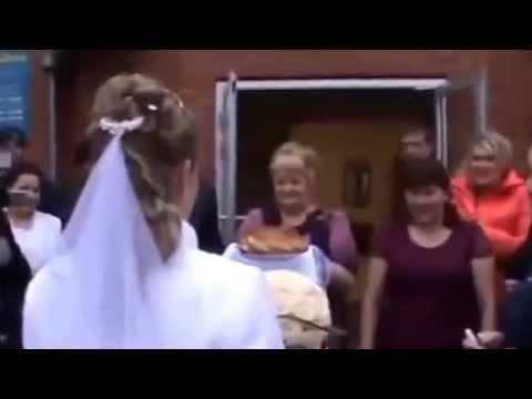Буйная драка на свадьбе! Понапивались и