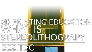 3D Printing Eduction: What Is Stereolithography? | Eezitec